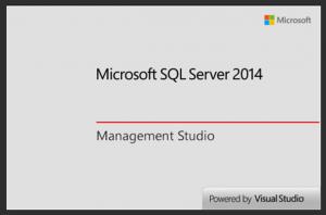 Ilustración 15 – Instalación de SQL Server | Inicio de SQL Management Studio.