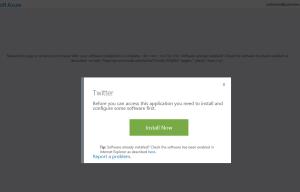 Ilustración 23 – Acceso a Aplicaciones Web publicadas desde Azure Active Directory utilizando el portal de Office 365.