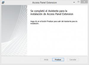 """Ilustración 29 – Instalación del complemento para Internet Explorer """"Access Panel Extension"""" para acceder a aplicaciones publicadas en Azure Active Directory."""
