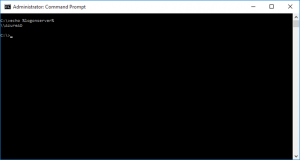 """Ilustración 10 – Resultado del CMD """"echo %logonserver% que da como resultado """"AzureAD"""", confirmando que el inicio de sesión es contra Azure Active Directory gracias a Azure AD Join."""