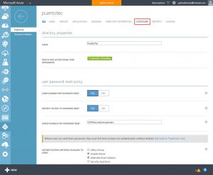 Ilustración 2 – Azure AD Join. Configuración de Directorio en Azure para aceptar registro de dispositivos.