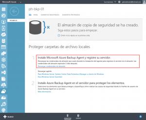 Ilustración 3 – Descarga de credenciales de Vault para su posterior utilización en Windows Server.