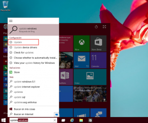 Ilustración 1 – Configuración de Windows Update para recibir los últimos Builds de Windows 10 (Fast Ring)