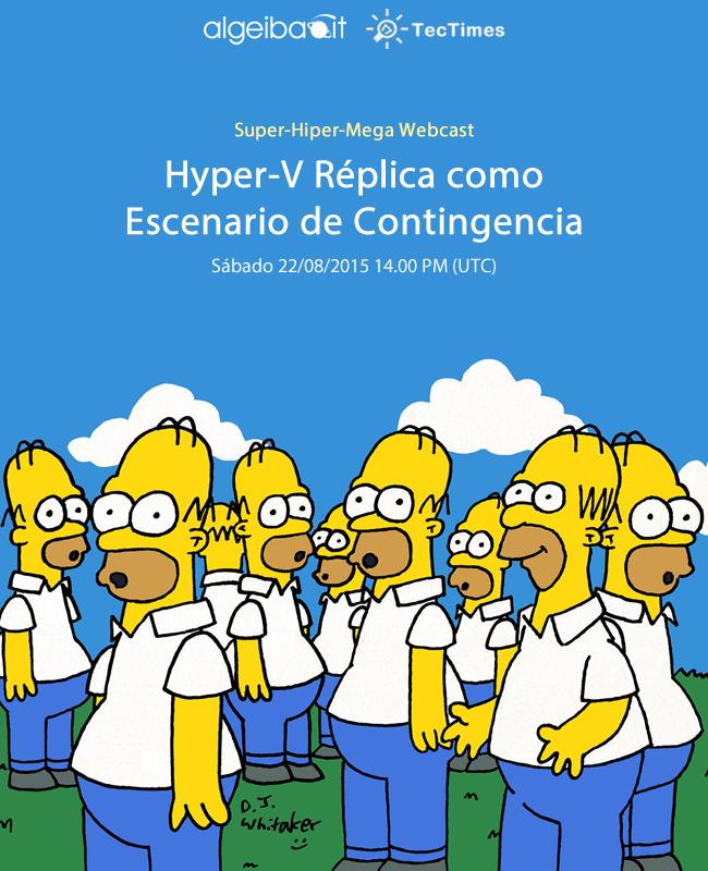 Evento Hyper-V Replica 22/08/2015