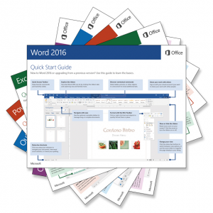 Office 2016 Quick Start Guides