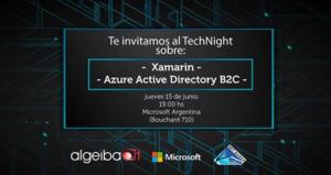 TechNight edición 15/06/2017 oprganizada por Pablo Di Loreto, Guillermo Bellmann, Nicolás Bello Carmetti