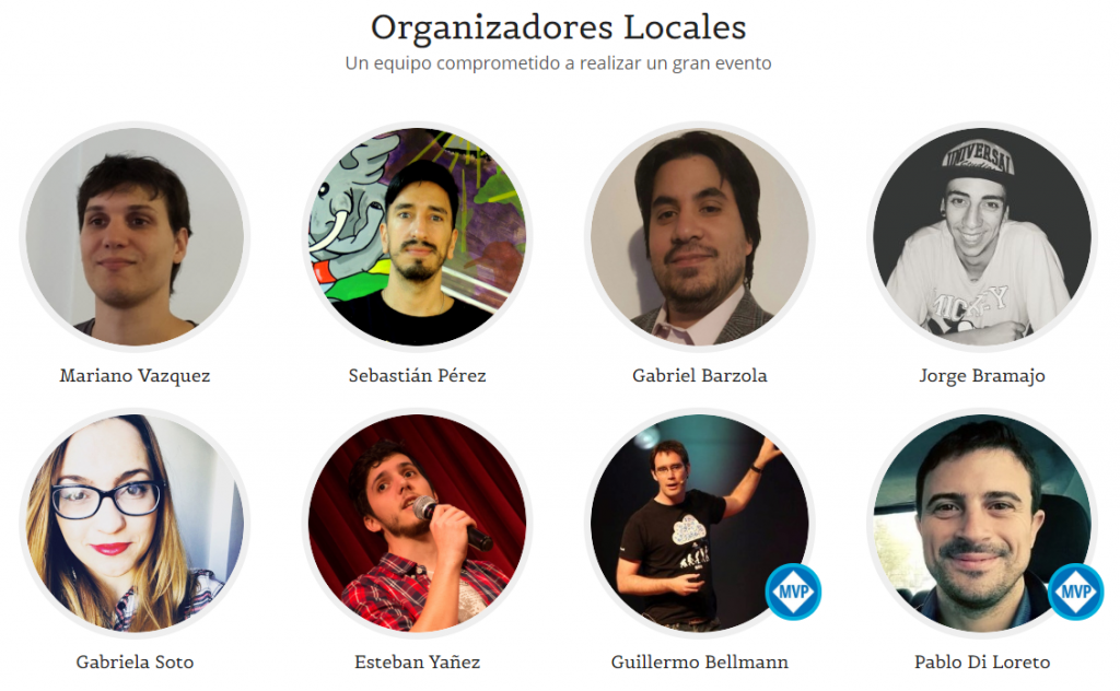 .NET Conf AR | Organizadores Locales v2018