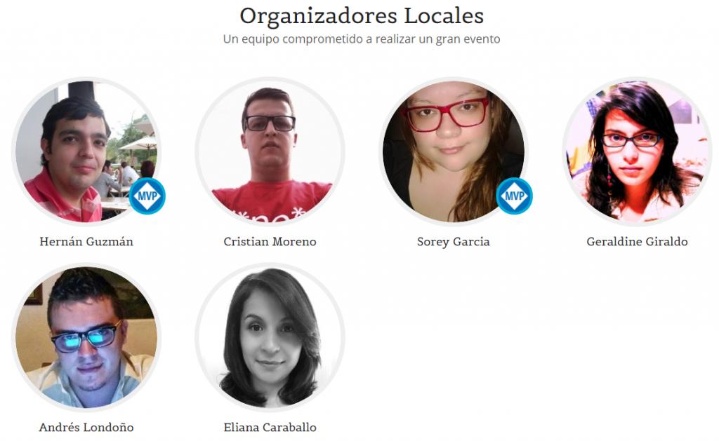 .NET Conf CO | Organizadores Locales edición 2018