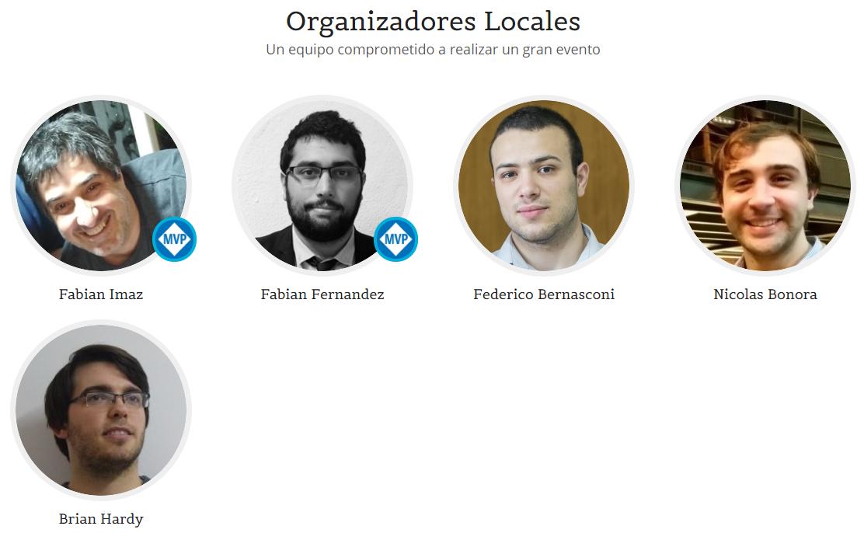.NET Conf UY | Organizadores Locales de edición 2018