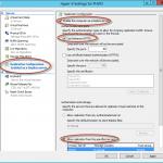 Configuración de opciones de replicación en host Hyper-V 3