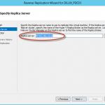 Reverse Replication en Hyper-V 3. Comprobación del servidor que pasará a ser réplica.