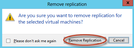 Delete Replication en Hyper-V 3.