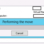Move de la VM con Hyper-V 3 Live Migration de Windows Server 2012.