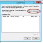 Delegación Kerberos para Live Migration de Hyper-V 3 en Windows Server 2012. Selección de Equipos.