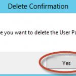 Eliminación de Usuario para prueba de Papelera de Reciclaje de Active Directory en Windows Server 2012