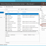 Papelera de Reciclaje habilitada para Active Directory en Windows Server 2012