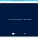Proceso de clonación de Controlador de Dominio en el equipo virtual DILUX_PDC03