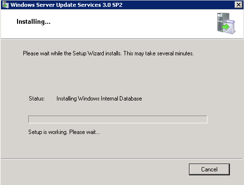 Proceso de instalación de Windows Server Update Services (WSUS) 3.0 en Windows Server 2008 R2