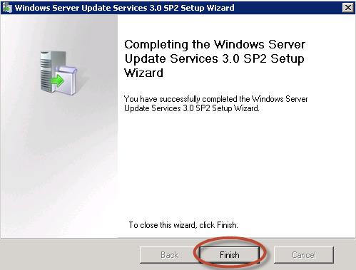 Proceso de instalación de Windows Server Update Services (WSUS) 3.0 en Windows Server 2008 R2