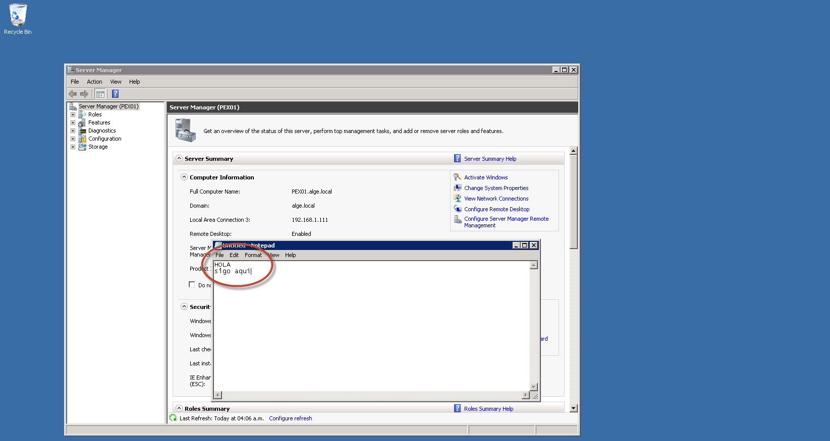 Hyper-V 3 Cluster y System Center Virtual Machine Manager 2012 SP1 - Live Migration