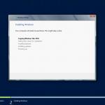 Instalación de Windows Server 2012. Inicio del proceso.