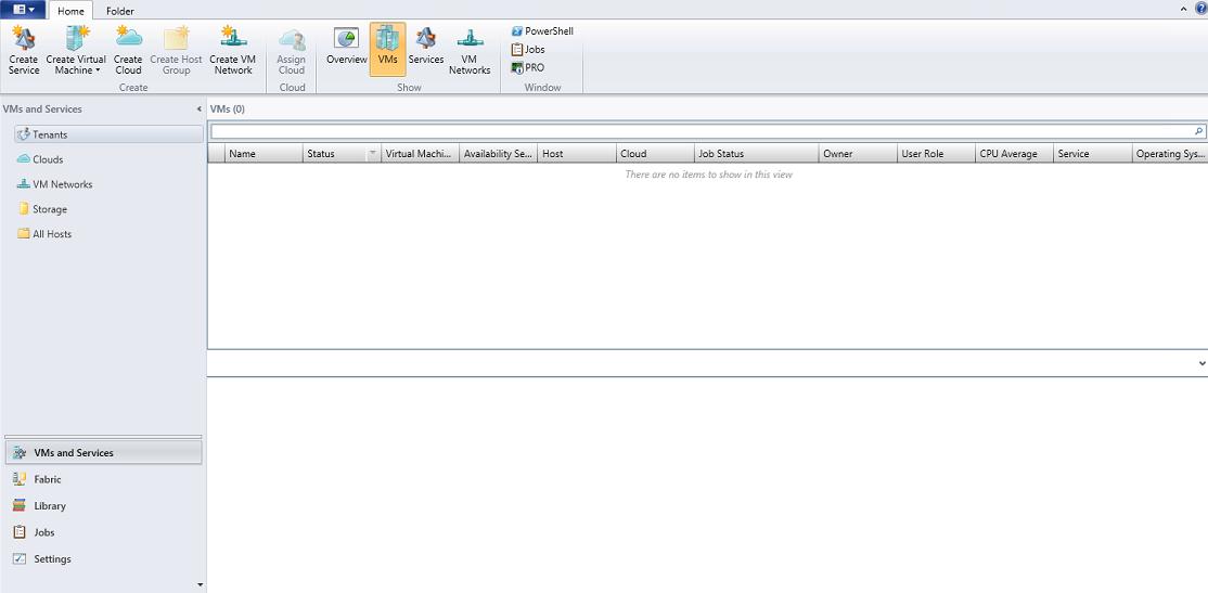 Configuración de System Center Virtual Machine Manager 2012 SP1