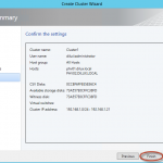 Hyper-V 3 Cluster y System Center Virtual Machine Manager 2012 SP1 - Creación del Cluster