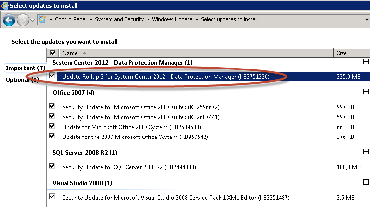 Instalación de Data Protection Manager 2012 (DPM 2012)