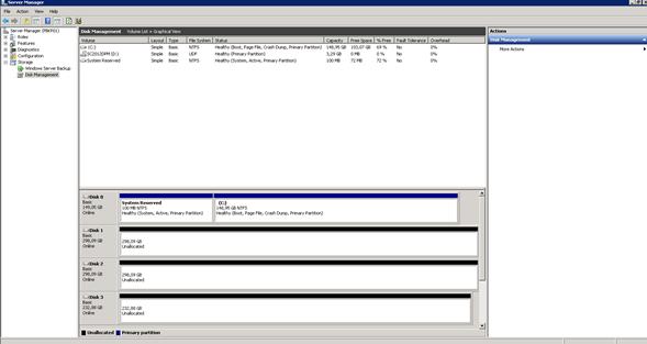 Configuración de Storage para Backup para System Center Data Protection Manager 2012 (DPM 2012)