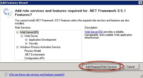 Instalación de pre-requisitos para System Center Data Protection Manager 2012