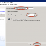 Configuración de Grupo de Protección en System Center Data Protection Manager 2012 (DPM 2012)