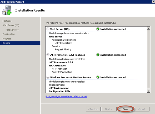 Instalación de pre-requisitos para System Center Data Protection Manager 2012