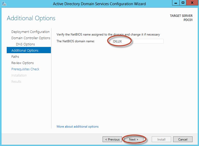 Configuración de Active Directory Domain Services en Windows Server 2012 - Promoción de Root Forest Domain