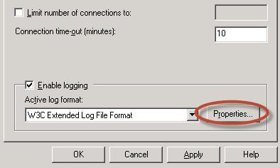 Ilustración 20 – Qué podemos loguear en el registro de eventos SMTP.