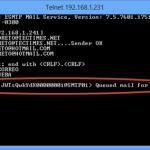 Ilustración 44 – Prueba de envío de correo desde servidor autorizado.
