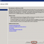 Ilustración 5 – Introducción a IIS 7.5.