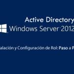 Active Directory en Windows Server 2012