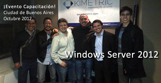 Evento Capacitación Windows Server 2012 - Octubre 2012