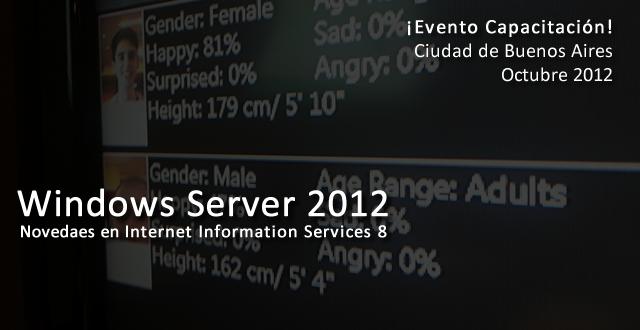 Evento Capacitación Windows Server 2012