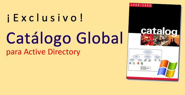 Catálogo Global en Active Directory