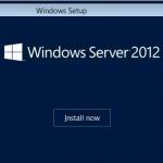 Instalación de Windows Server 2012
