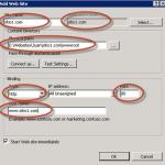 Creación de Sitio Web en IIS 7.5.