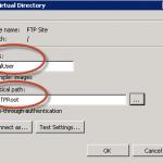 Directorio virtual LocalUser para el FTP del IIS 7.5.