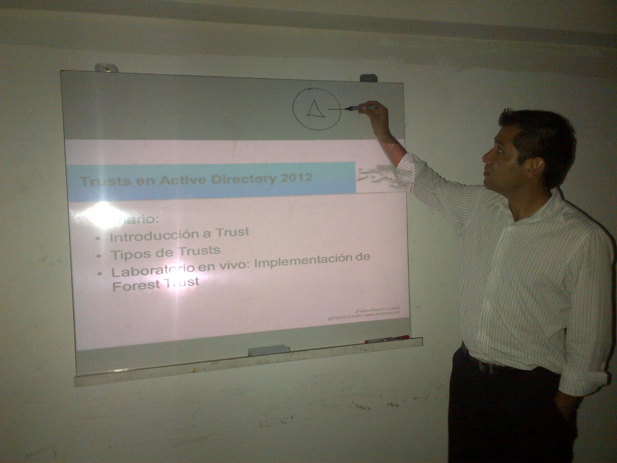 Capacitacion Active Directory y Lab Active Directory 2012 - Diciembre 2012