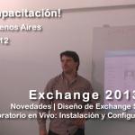 Capacitación Exchange 2013 en Buenos Aires - Diciembre 2012