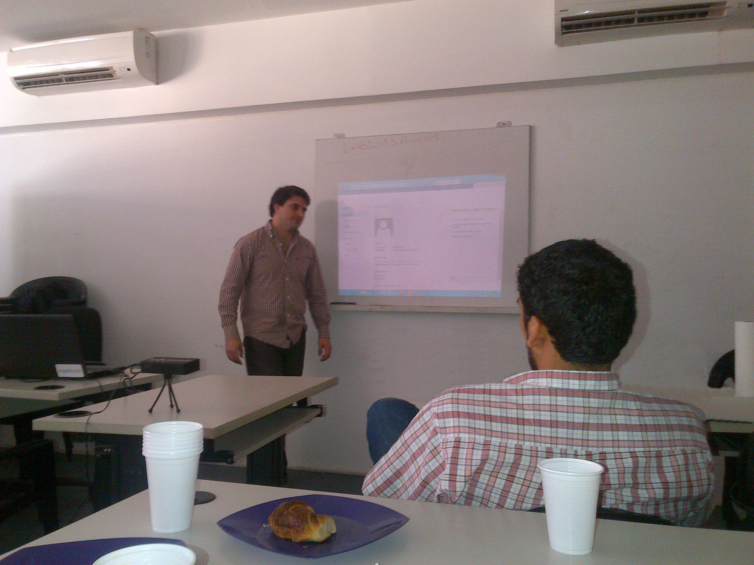 En pleno evento de Exchange Server 2013.