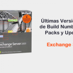 Exchange Server 2003 - Build Numbers, Service Packs y Update Rollups