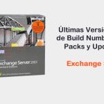 Exchange Server 2003 - Build Numbers, Service Packs y Update Rollups