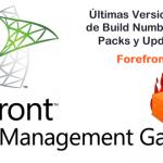 Forefront TMG 2010 Ultimas Versiones