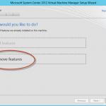 Ilustración 6 – Asistente de desinstalación de System Center Virtual Machine Manager 2012 SP1 Beta.